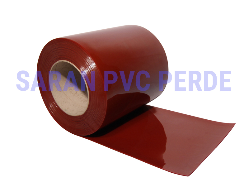 SARAN Red Welding PVC Strips