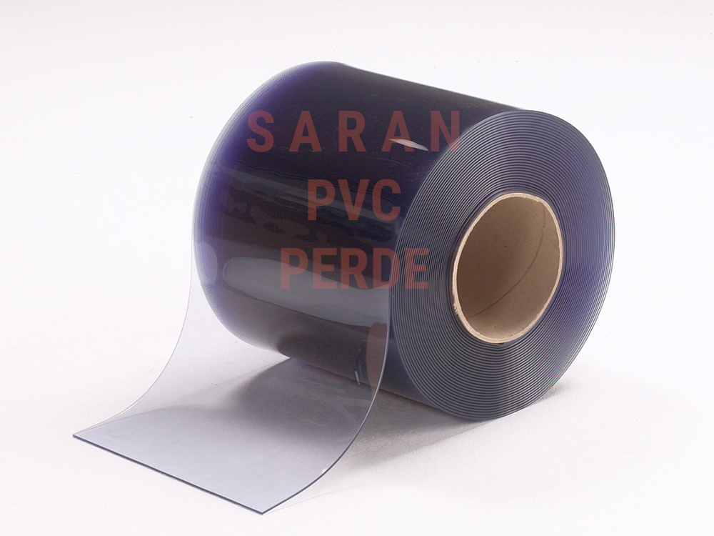 SARAN Clear Transparent PVC Strips