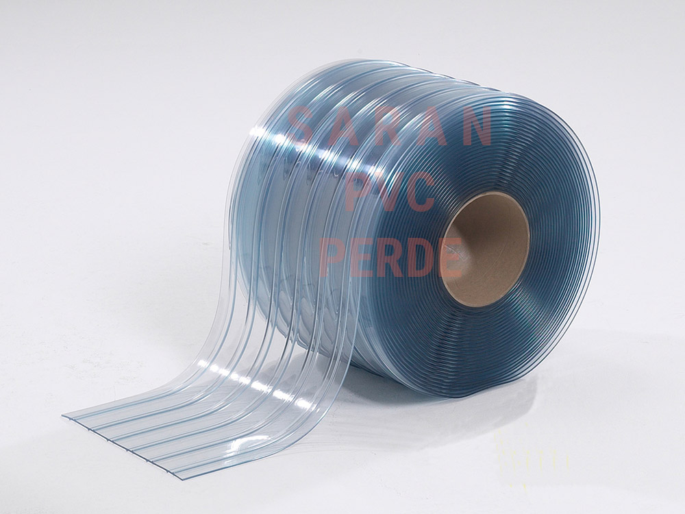 SARAN Ribbed PVC Strips